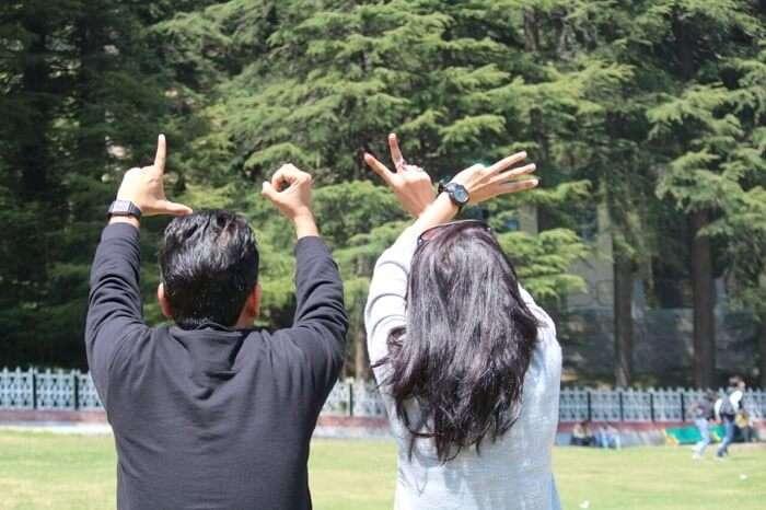friends on a trip to khajjiar dalhousie