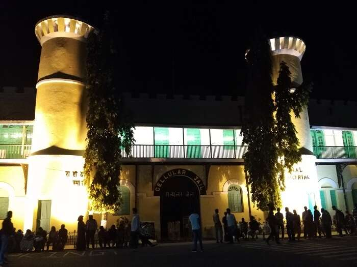 cellular jail sound and light show