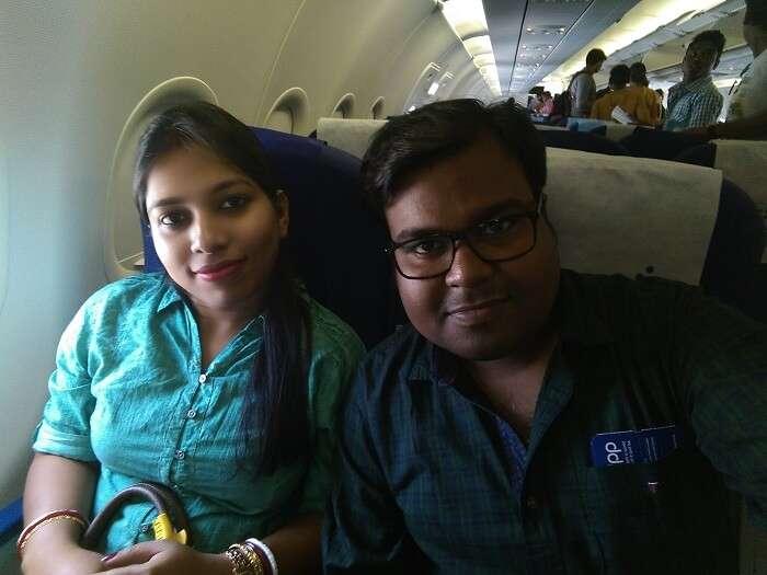 port blair flight from india