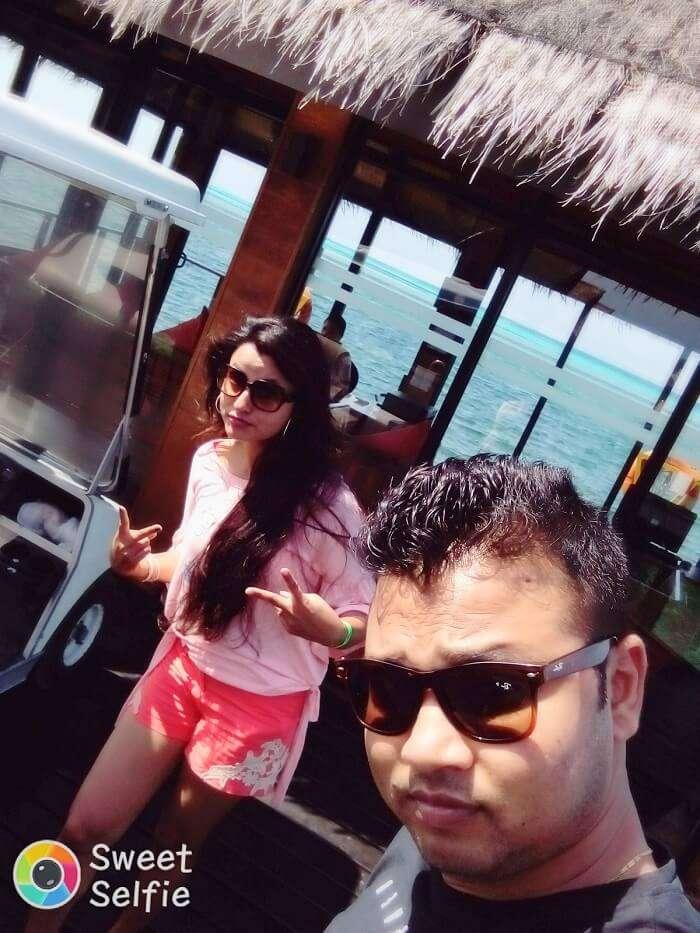 adaaran resort honeymoon