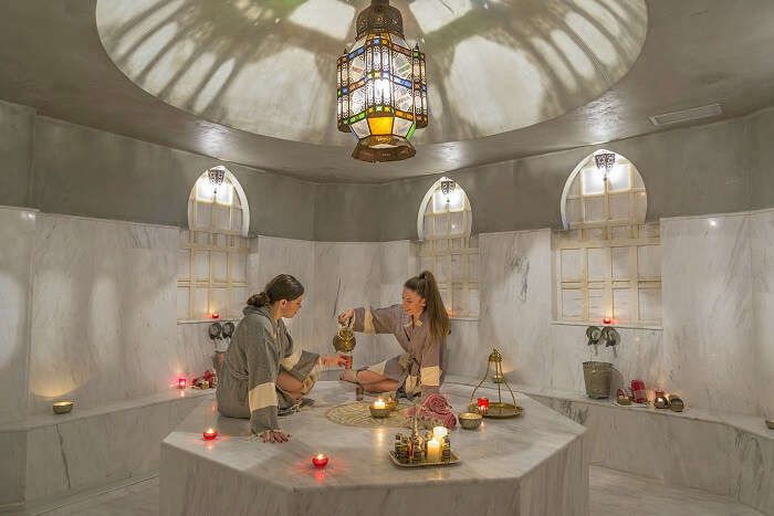 Indulge in a steam bath in athens
