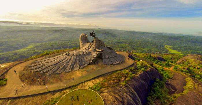 a giant structure of Jatayu