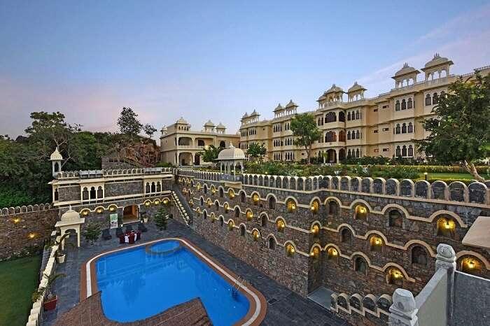 famous resort