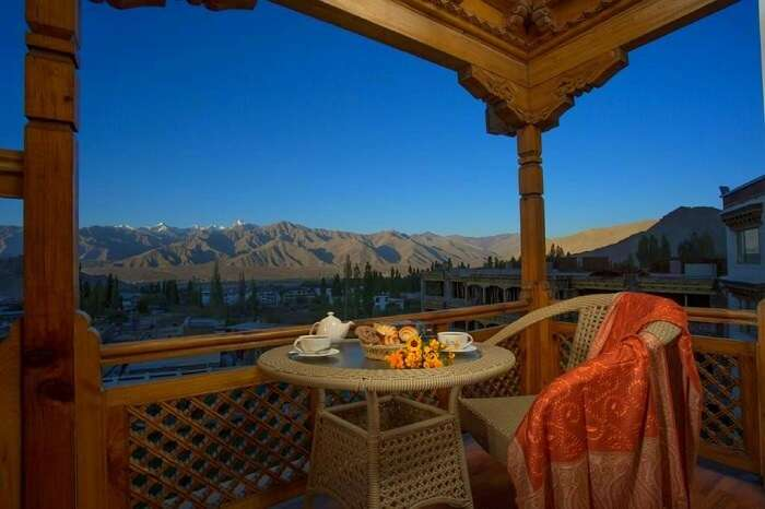 see stunning views from Ladakh View Homestay