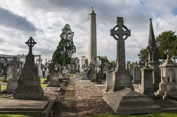 Learn Irish history at the Glasnevin Cemetery Museum Dublin