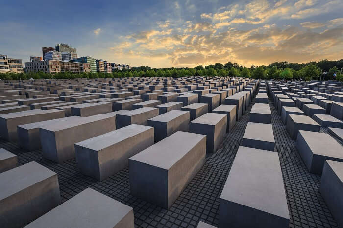 Learn history at the Holocaust Memorial Berlin