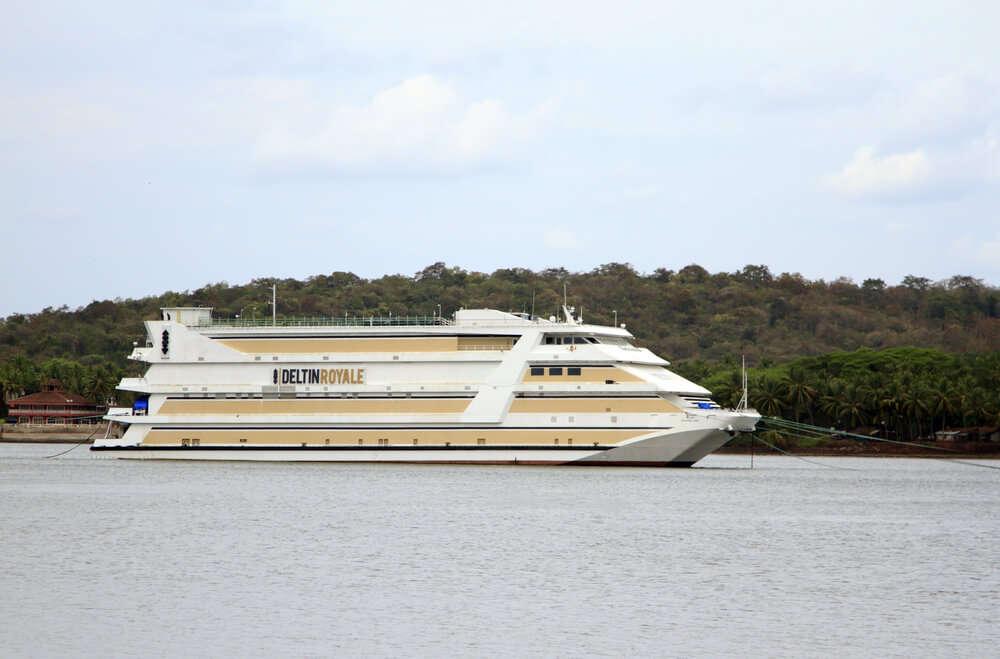 a cruise in a river