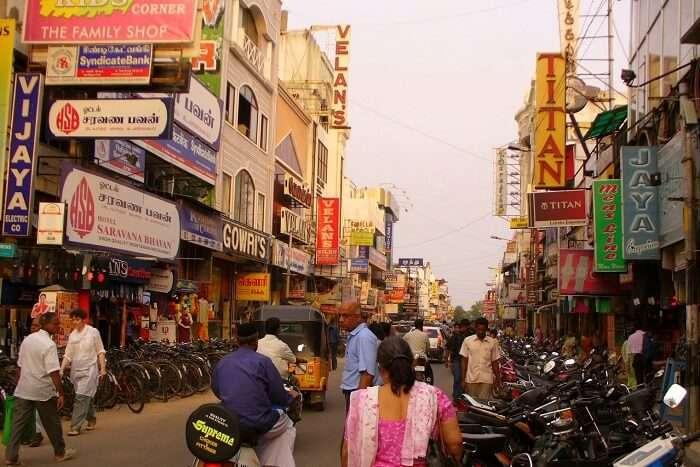 Nehru Street pondicherry - Everything under the sun