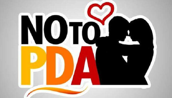 No PDA In Dubai