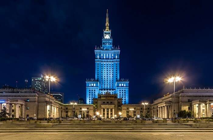 Palace of Culture and Science poland