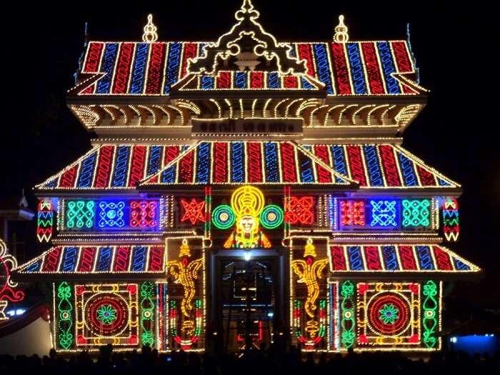 Paramekkavu Bhagavathy Temple thrissur