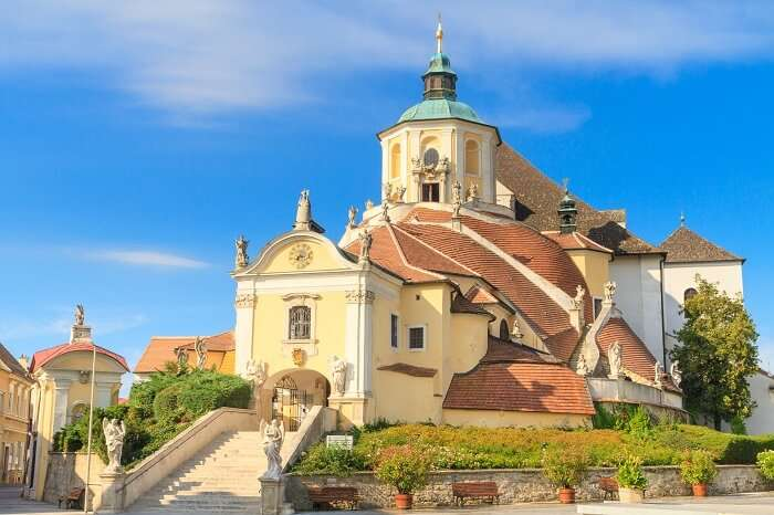 Pay Your Respects At The Kalvarienberg Church