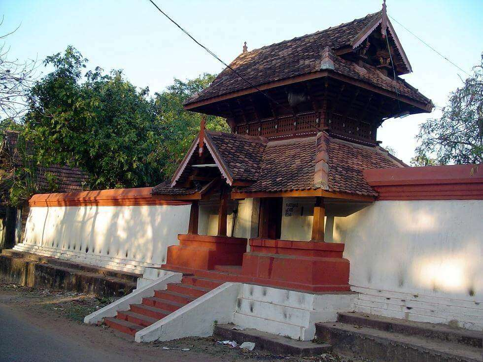 an old temple in Kollam
