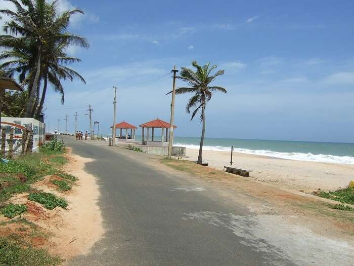 Sanguthurai Beach kanyakumari