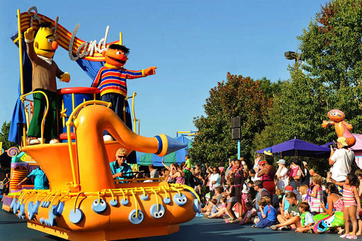 Sesame Place in US