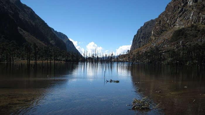Shongatser Lake In Tawang