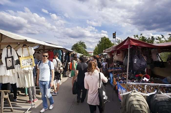 Shop for souvenirs at Berlin's flea markets