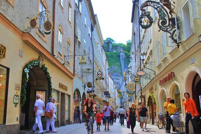 Soak in the old world charm of Old Town of salzburg