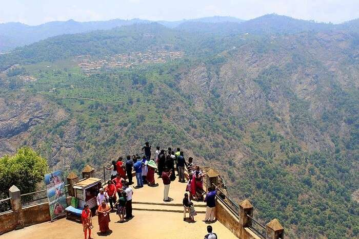 Take a drive up to Dolphin's Nose ooty