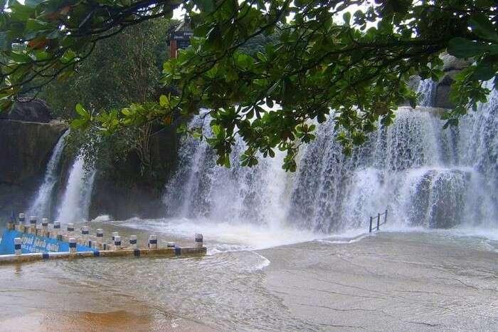 Thirparappu Waterfalls kanyakumari