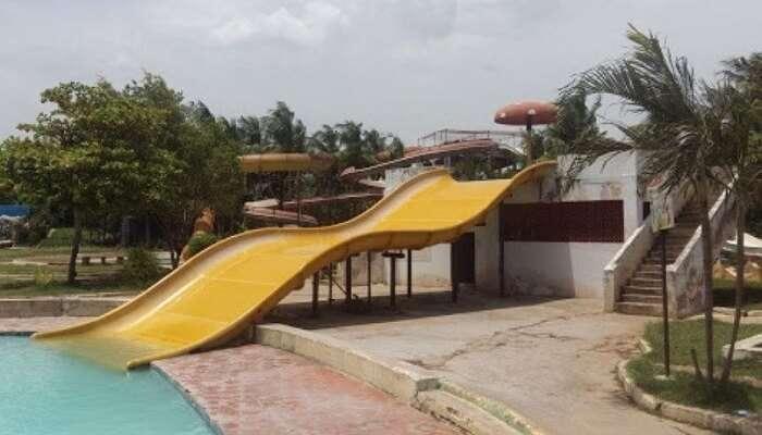 A water park in Vijayawada