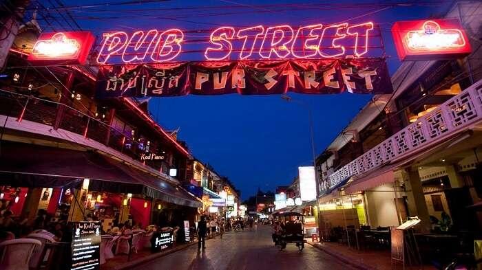 Visit Pub Street In Siem Reap