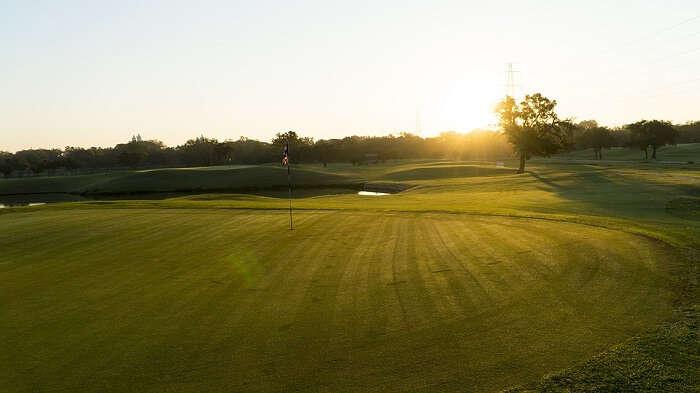 Golf course in coonoor