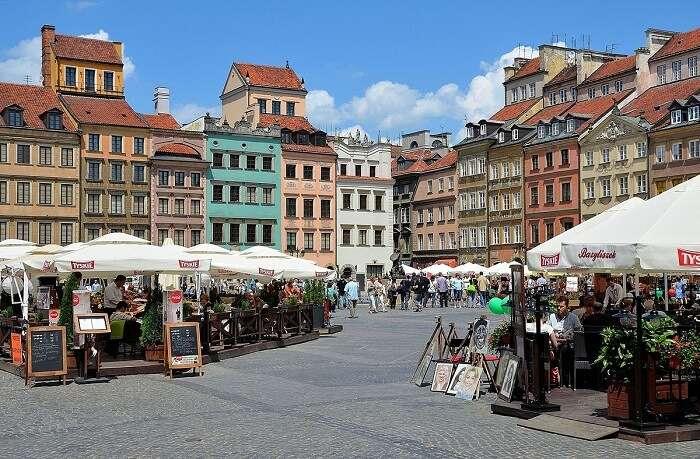 Wonderful Main Market Square poland