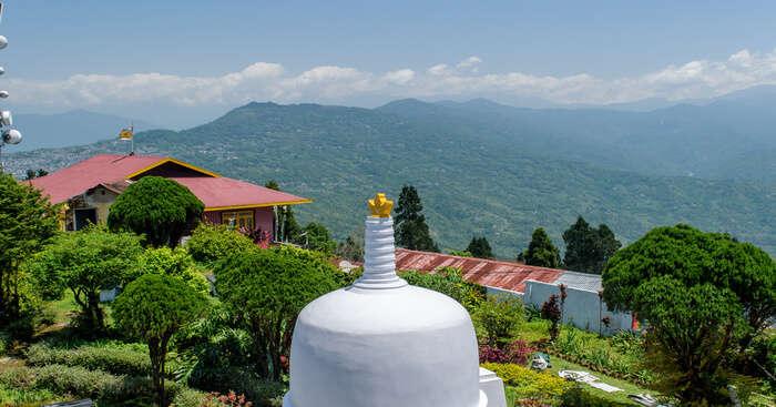 ancient buddhist monastrey