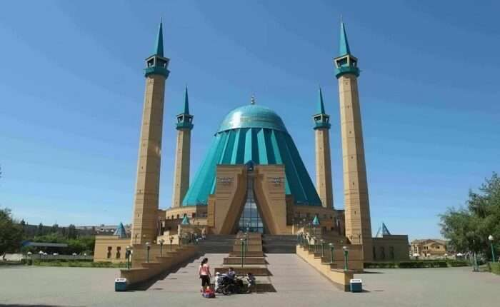 A monument in Kazakhstan