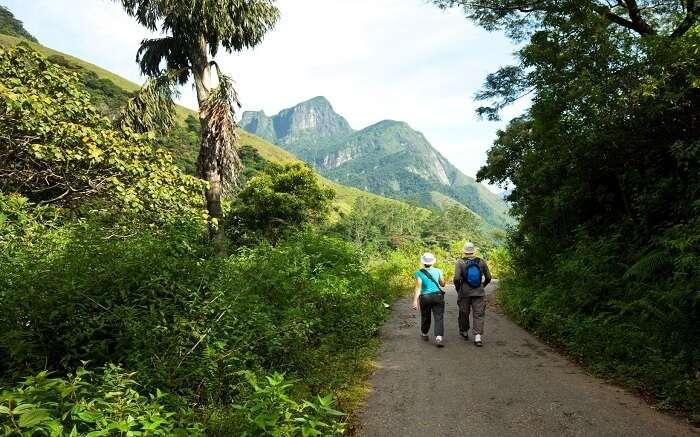 hike on Sri Lanka