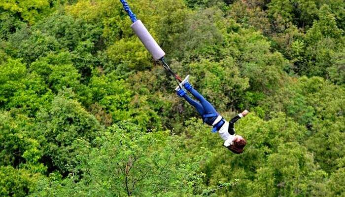 bungee jumping in haridwar