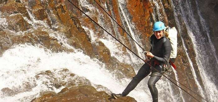 canyoning adventure in new zealand