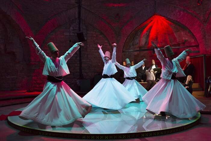the whirling dervish show