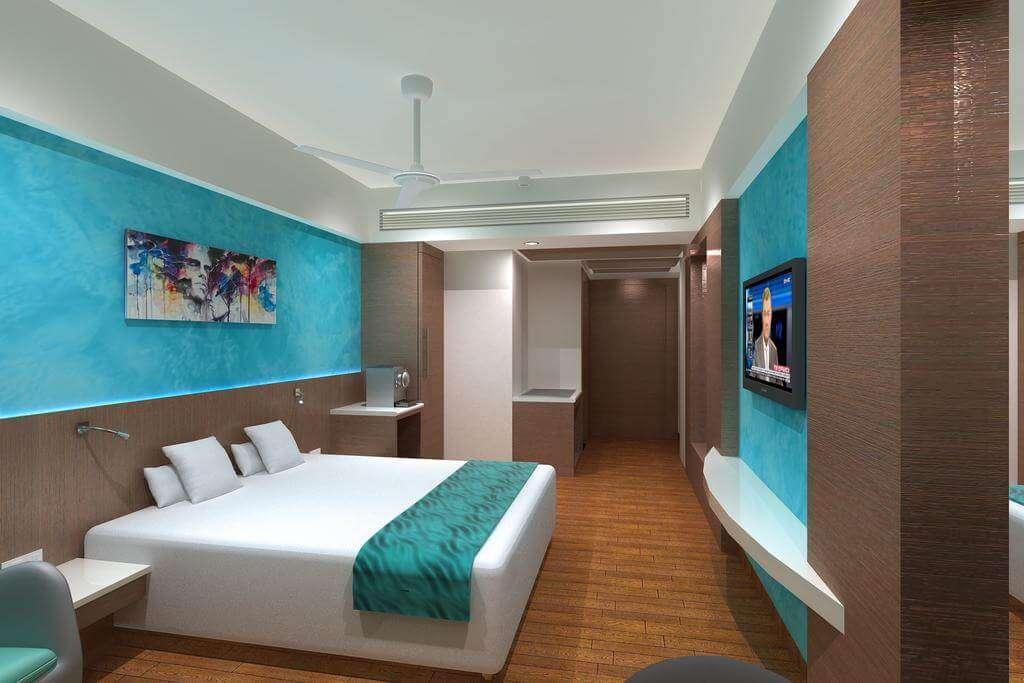 Interior of effotel hotel in indore