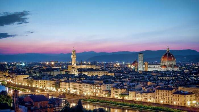 Florence in Italy
