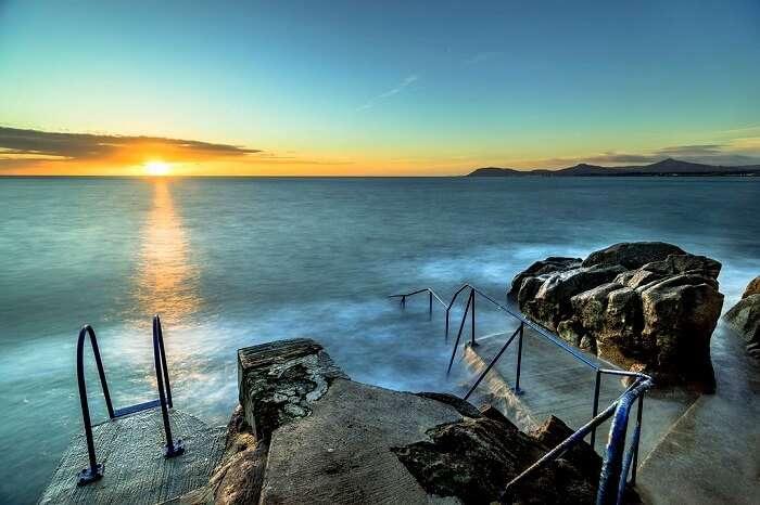 hawks cliff beach ireland