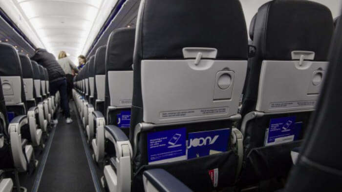 inside Joon airline