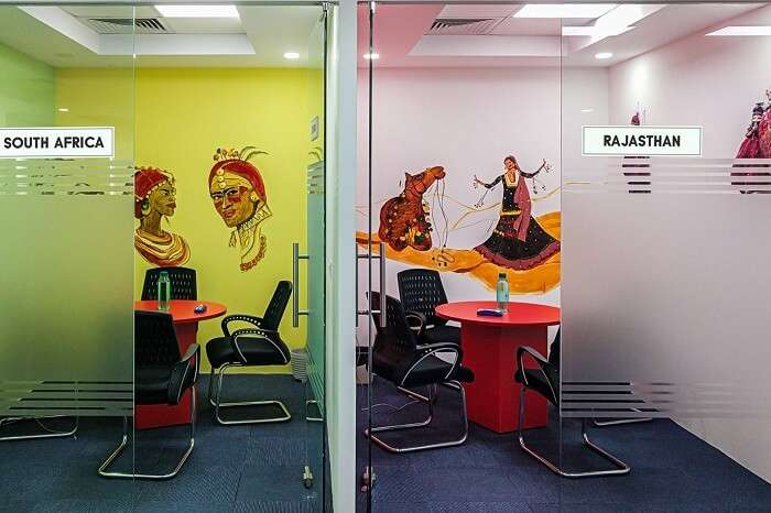 Destination-based meeting rooms at TravelTriangle