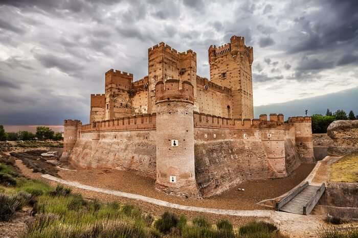 mota castle in spain