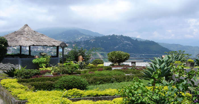 views of surrounding valleys