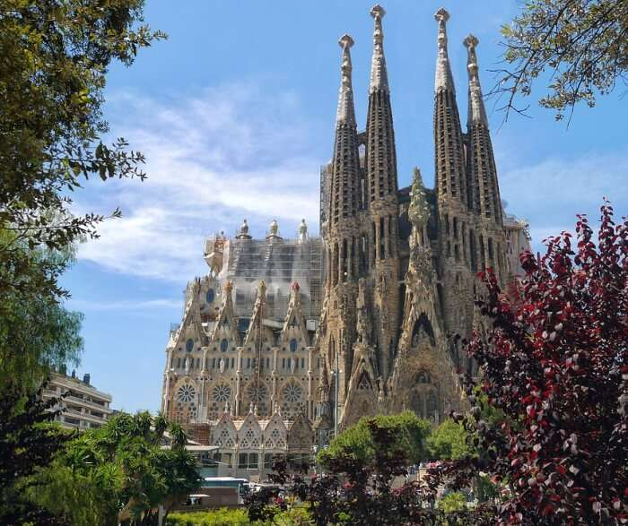 sagrada familia in Spain
