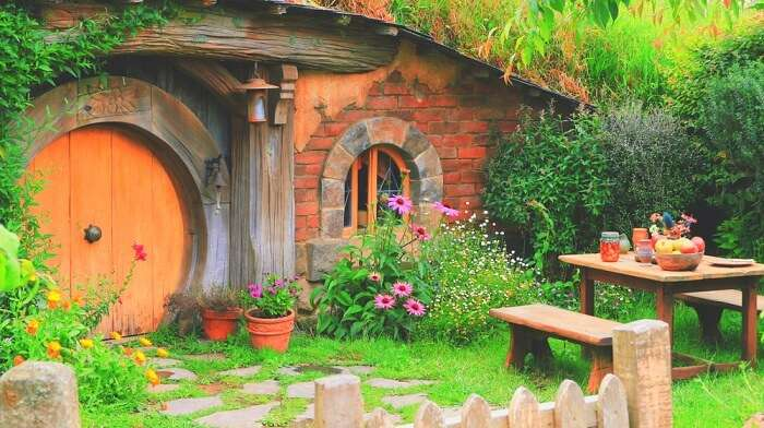 a home with fencing in hobbiton