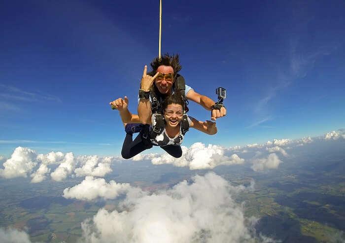 new zealand sky diving adventure