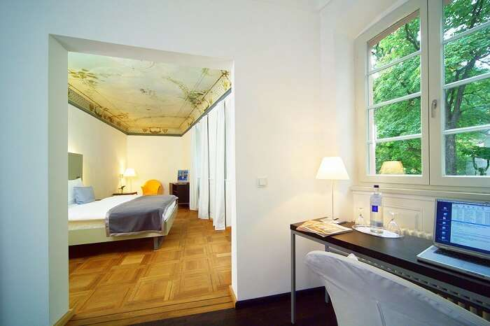 stay at Art Hotel, Heidelberg germany
