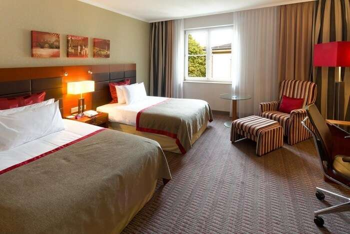 stay at Crowne Plaza Heidelberg City Centre germany