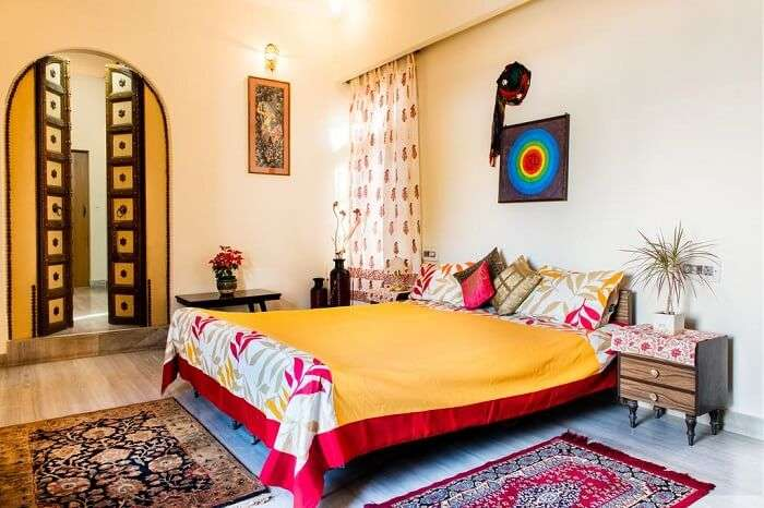 stay at Kalpana Yoga Homestay jaipur