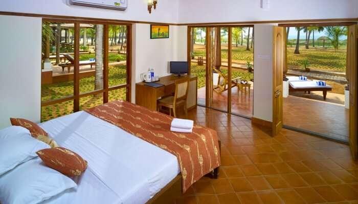 stay at Nattika Beach Resort thrissur