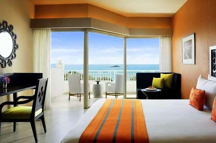 stay at Vivanta by Taj Bentota