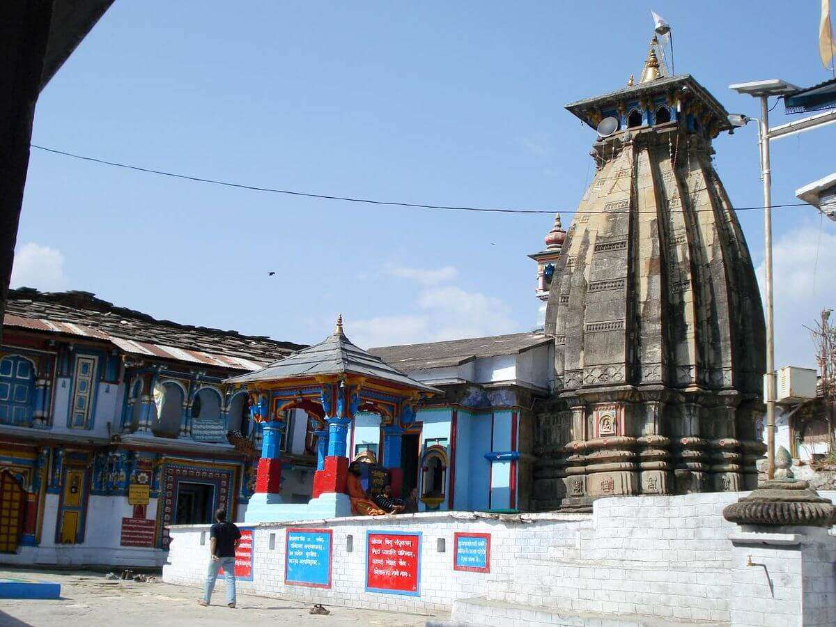 an ancient temple in Chopta